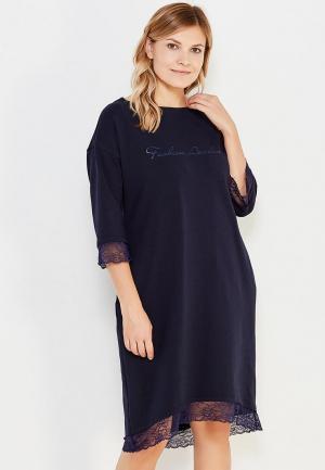 Платье Sitlly. Цвет: синий