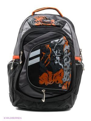Рюкзаки UFO PEOPLE. Цвет: оранжевый, черный, серый