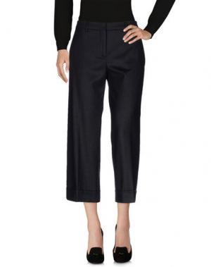 Повседневные брюки TRUE ROYAL. Цвет: стальной серый