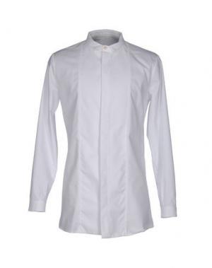 Pубашка NOSTRASANTISSIMA. Цвет: белый