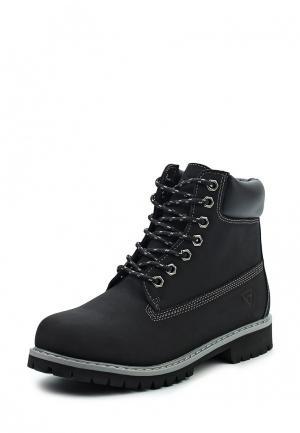 Ботинки Reflex. Цвет: черный