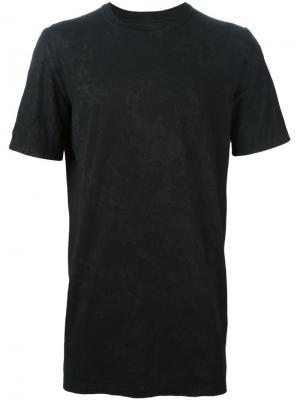 Классическая футболка 11 By Boris Bidjan Saberi. Цвет: чёрный