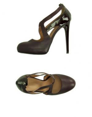 Туфли ALTIEBASSI. Цвет: баклажанный