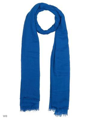 Палантин Vita pelle. Цвет: синий