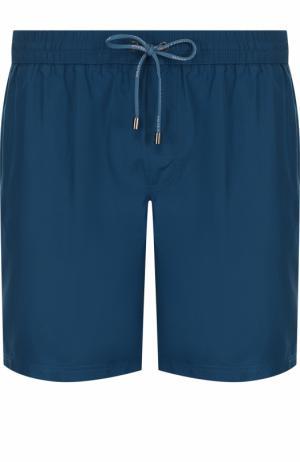 Плавки-шорты с карманами Dolce & Gabbana. Цвет: бирюзовый