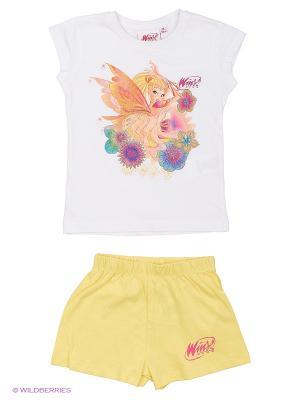Пижама WINX. Цвет: белый