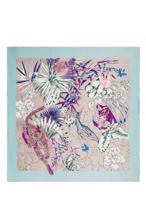 Шелковый платок 183380 Moltini. Цвет: разноцветный