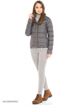 Куртка The North Face. Цвет: серый
