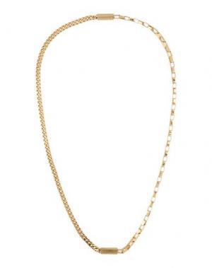 Ожерелье DKNY. Цвет: золотистый