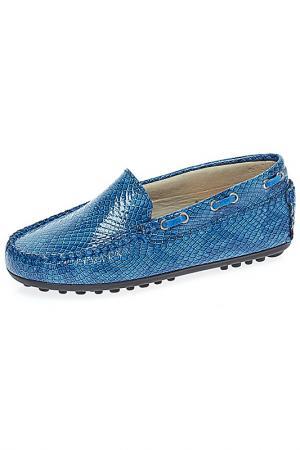 Туфли TNY. Цвет: синий