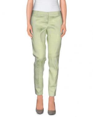 Повседневные брюки CHLOTILDE. Цвет: светло-зеленый