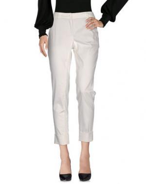 Повседневные брюки TRIXI SCHOBER. Цвет: белый