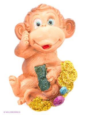 Богатая обезьянка Пуффи. Цвет: коричневый