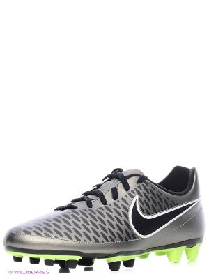 Бутсы MAGISTA OLA FG Nike. Цвет: черный, серый