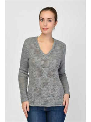 Пуловер Maria Velada. Цвет: серый