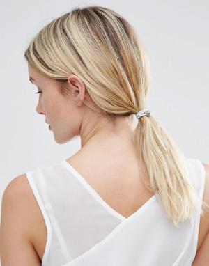 ALDO Набор резинок для волос с искусственным жемчугом. Цвет: мульти