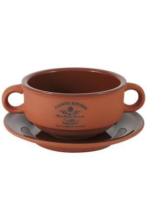 Суповая чашка Умбра, 0,3л TERRACOTTA. Цвет: мультиколор