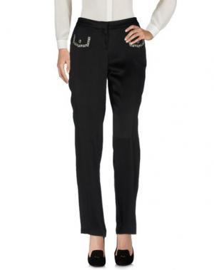 Повседневные брюки DICE KAYEK. Цвет: черный