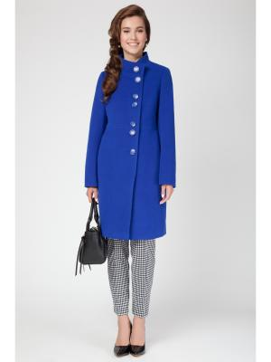 Пальто Electrastyle. Цвет: индиго
