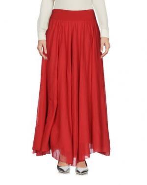 Длинная юбка EUROPEAN CULTURE. Цвет: красный