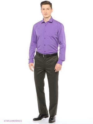 Рубашка мужская с длинным рукавом Mr. Marten. Цвет: лиловый