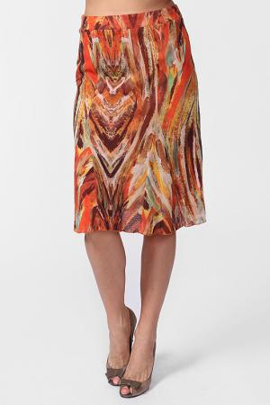 Юбка Carla B. Цвет: оранжевый