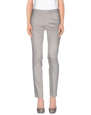 Повседневные брюки EMISPHERE. Цвет: светло-серый