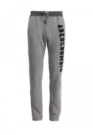 Брюки спортивные Abercrombie & Fitch. Цвет: серый