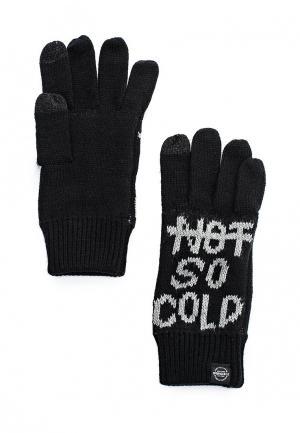 Перчатки Springfield. Цвет: черный