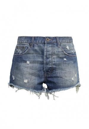Шорты джинсовые One Teaspoon. Цвет: синий