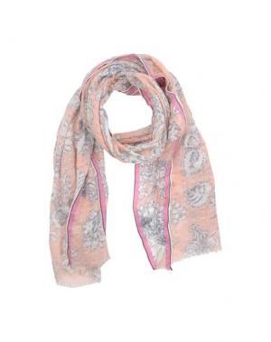 Палантин EPICE. Цвет: лососево-розовый