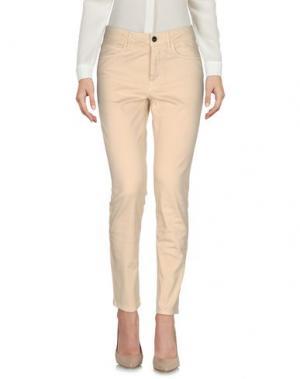 Повседневные брюки HENRY COTTON'S. Цвет: бежевый