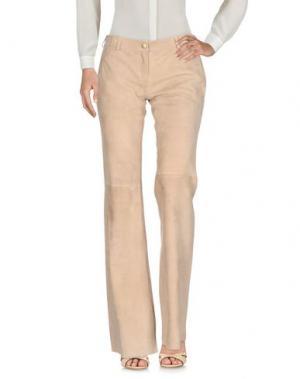 Повседневные брюки SIMONETTA RAVIZZA. Цвет: песочный