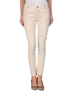 Повседневные брюки INTROPIA. Цвет: слоновая кость