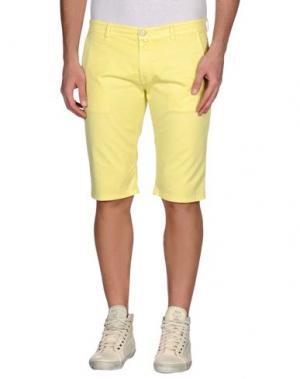 Бермуды MANUEL RITZ WHITE. Цвет: желтый