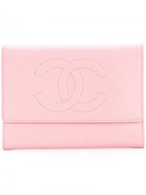 Small wallet Chanel Vintage. Цвет: розовый и фиолетовый