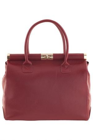 Сумка Pitti bags. Цвет: красный