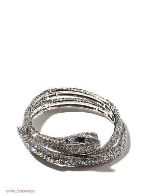 Браслет Lovely Jewelry. Цвет: серебристый