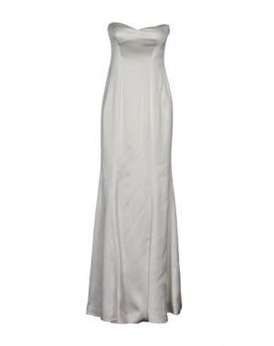 Длинное платье GAI MATTIOLO. Цвет: белый