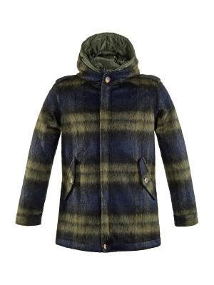 Пальто LOST IN ALBION. Цвет: зеленый