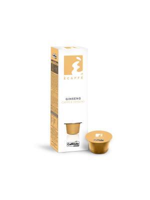 Кофе в капсулах Ginseng ECAFFE CAFFITALY. Цвет: желтый