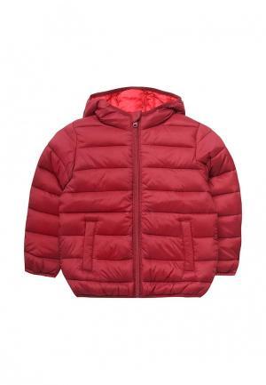Куртка утепленная Blukids. Цвет: бордовый