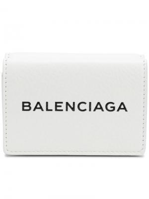 Визитница Bal Everyday Balenciaga. Цвет: белый