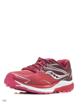 Кроссовки Saucony. Цвет: розовый, фиолетовый