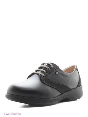 Ботинки ортопедические Finn Comfort. Цвет: черный