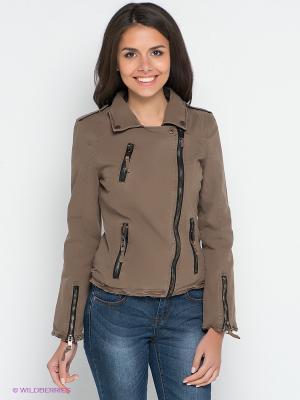 Куртка Broadway. Цвет: коричневый
