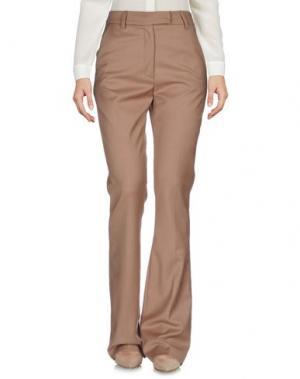 Повседневные брюки NORA BARTH. Цвет: верблюжий