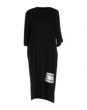 Платье до колена NUMERO 00. Цвет: черный