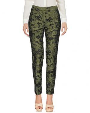 Повседневные брюки CHRISTIAN PELLIZZARI. Цвет: зеленый-милитари