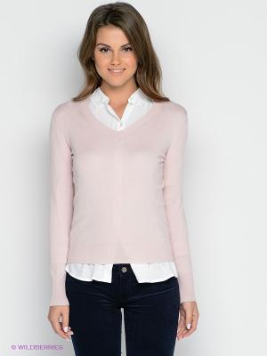 Пуловер TOM FARR. Цвет: бледно-розовый